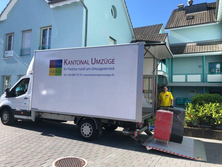 Zügeln Aargau - Umzug mit Kantonal Umzüge - Ihre Zügelfirma